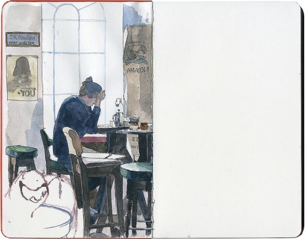 Artisans in Edinburgh - Urban Sketchers