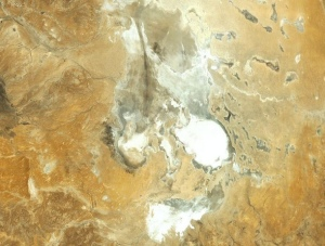 Lake Eyre - Google Map