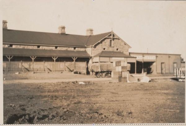 Oodnadatta Railway Station 1927