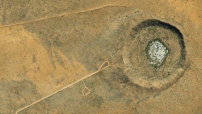 Wolfe Creek Meteorite Crater - Google Map