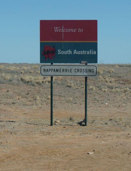 4 - Welcome to SA sign
