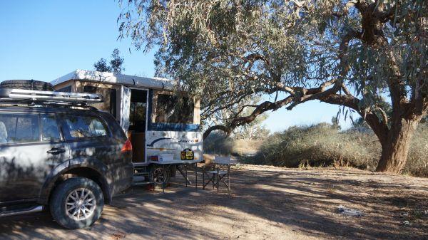 Coopers Creek campsite