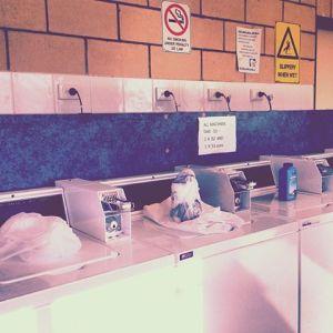 Washing - bore water