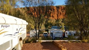 Glen Helen Gorge campsite