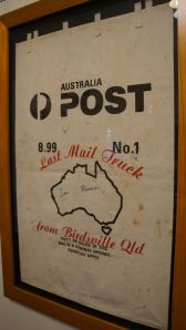 Last mail truck from Birdsville