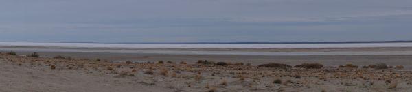 Morning on Lake Eyre