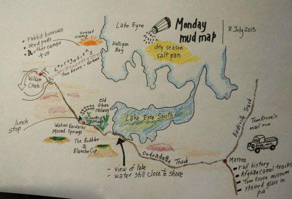 Mud map Monday