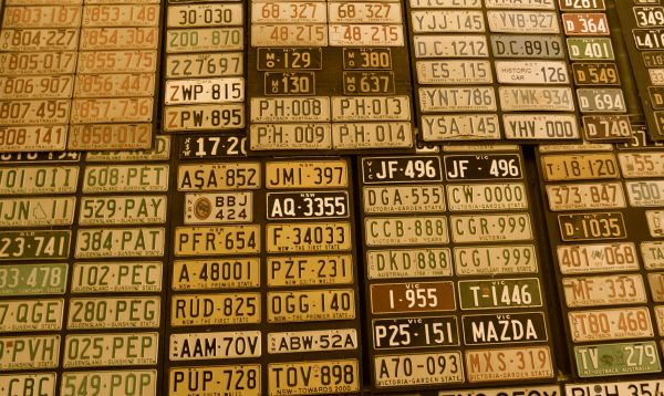 National Truck Museum - plates