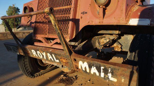 Royal Mail truck - Tom Kruse