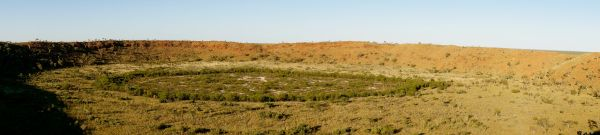 Wolfe Creek Crater panorama