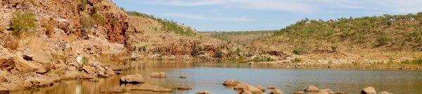 Chamberlain Gorge panorama