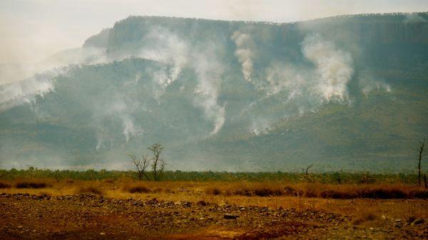 Cockburn Range afternoon fires