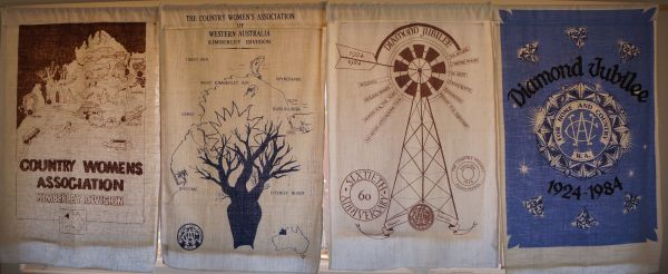 CWA tea towels - Broome Museum