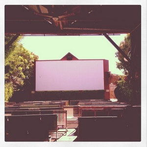 outdoor cinema - Broome