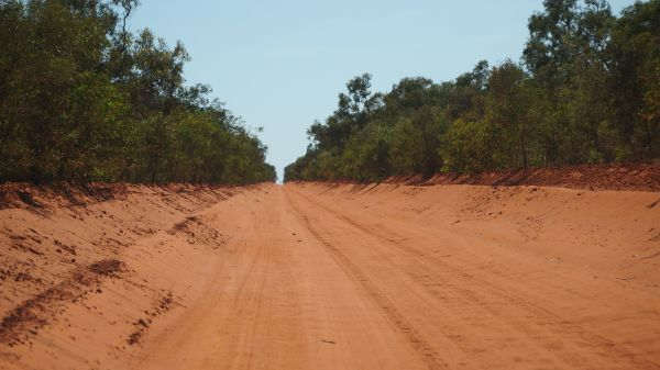 road from Broome to Cape Leveque
