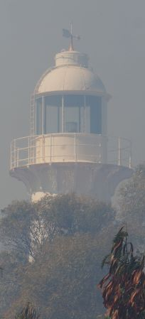 smoky lighthouse