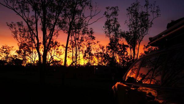 Sunset reflections - Drysdale Station