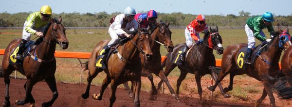 They're racing at Broome 1