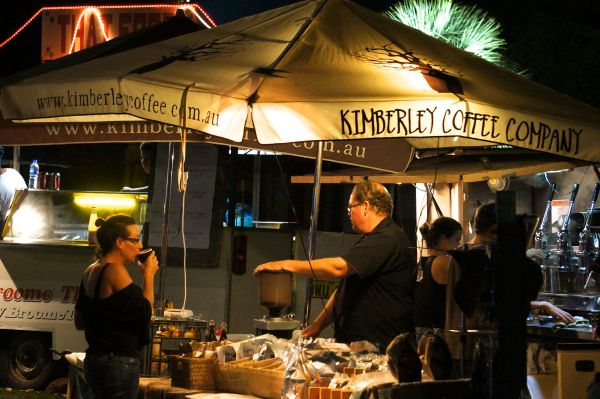 Town Beach night markets - Broome 5