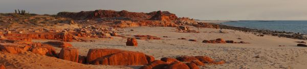 western beach at Cape Leveque