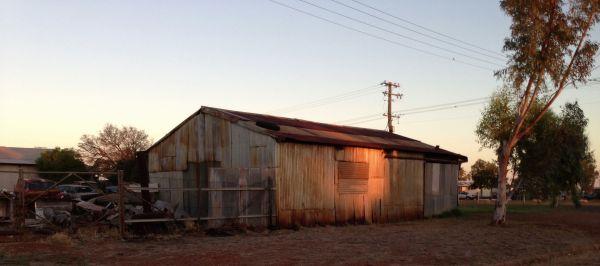 Camooweal scrap yard