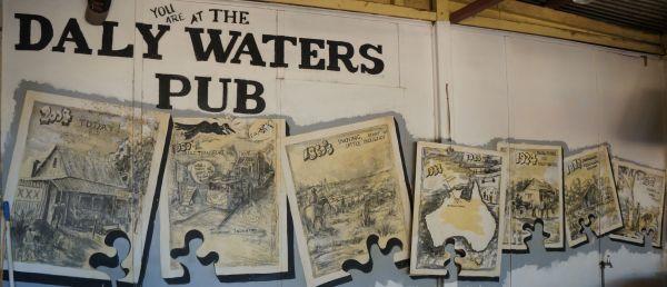 cartoon history of the pub