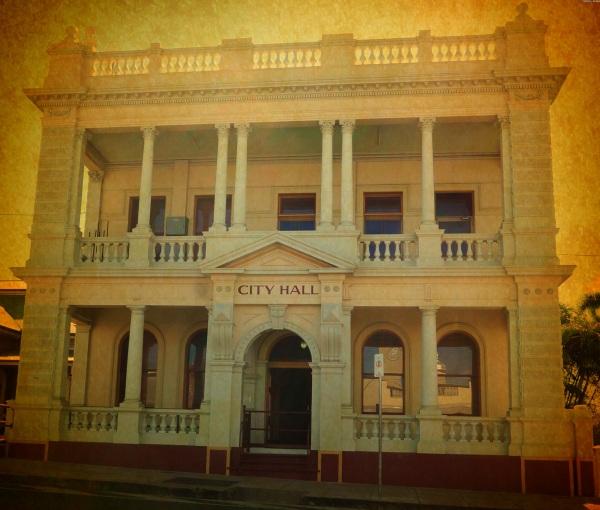 City Hall - vintage FX