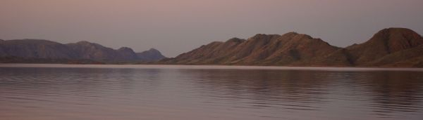 Pink diamond sky - Lake Argyle