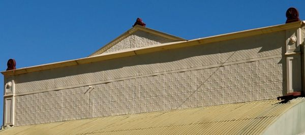 Pressed tin shopfront - Charters Towers