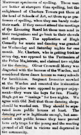The Northern Miner - dance houses