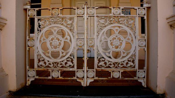 The World Theatre - gates