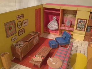 cardboard doll's house