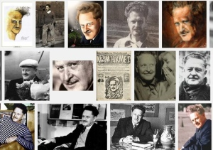 Nazim Hikmet collage