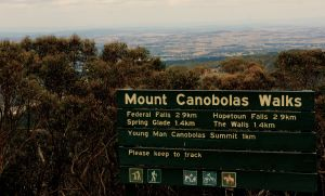 Mount Canobolas view