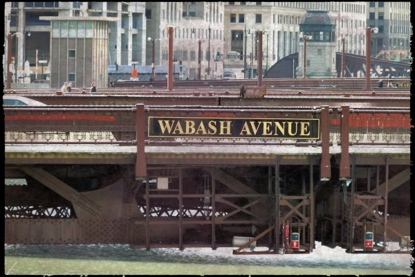 Chicago - Wabash Avenue bridge