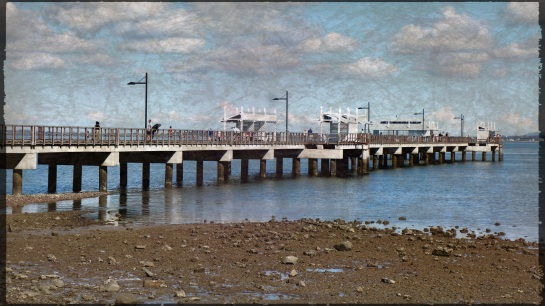 Woody Point Jetty 22 June 2014
