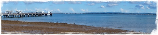 Woody Point panorama 22 June 2014