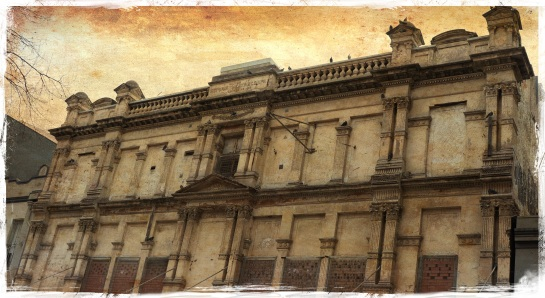 Old Victoria Theatre - Newcastle - FX Ancient Canvas