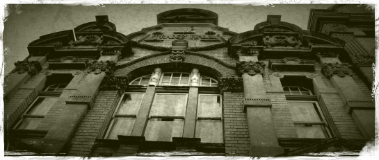 Trades Hall Newcastle - Grunge then FX Aged