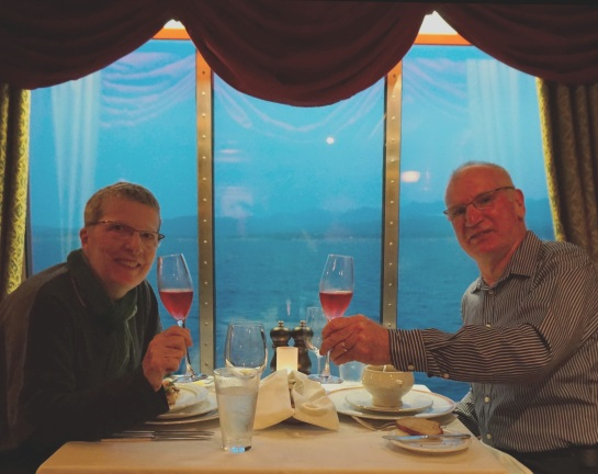 Anniversary dinner - Le Bistro - NCL - 21 Sep 2014