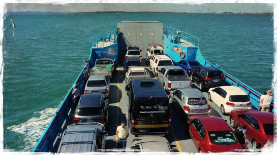 Car ferry to Stradbroke Island - 6 Sept 2014