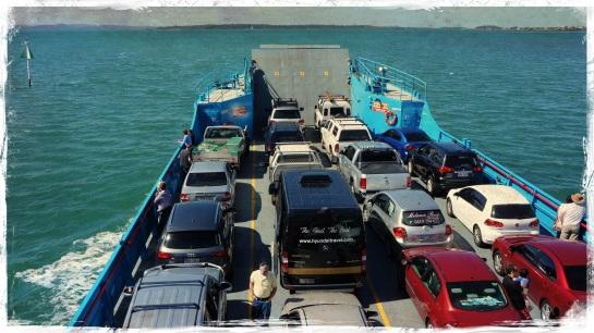 Car ferry to Stradbroke Island - 6 Sept 2014