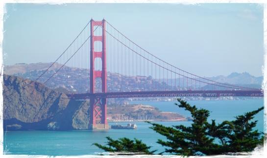 Golden Gate Bridge - morning Coastal Walk - 17 Sept 2014