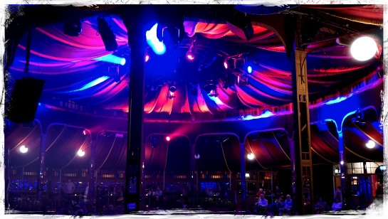 inside the Spiegeltent