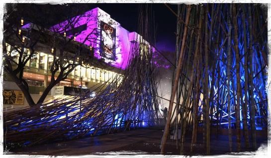 Light Garden - Brisbane Festival 2014 South Bank