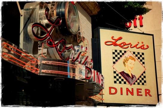 Lori's Diner - exterior - San Francisco