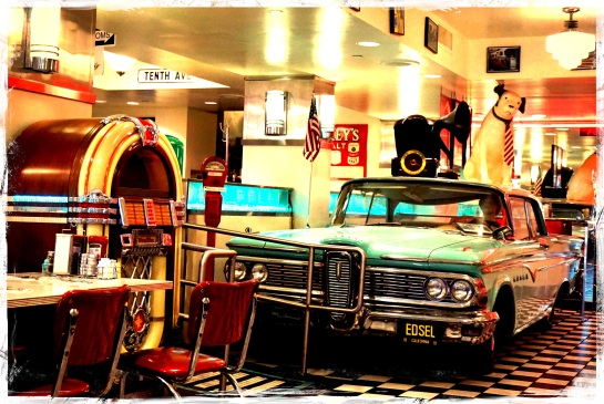 Lori's Diner interior - San Francisco