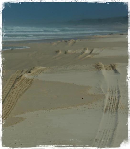 Main Beach - Stradbroke Island 6 Sept 2014
