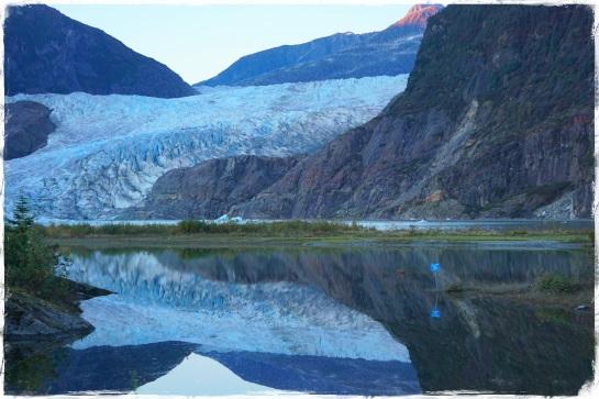Mendenhall Glacier 1 - reflections