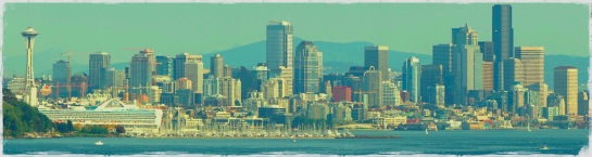 Seattle skyline panorama - 20 Sep 2014